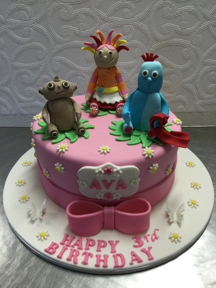 """In the night garden"" birthday cake"